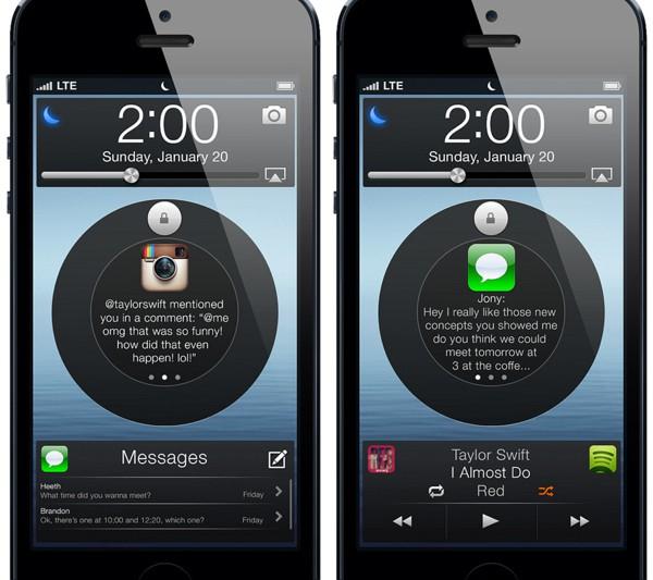 iOS 7 Concept Preview