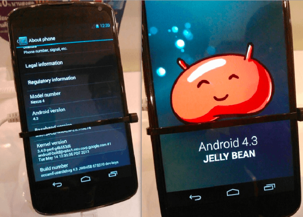 Android 4.3 Update Leaked