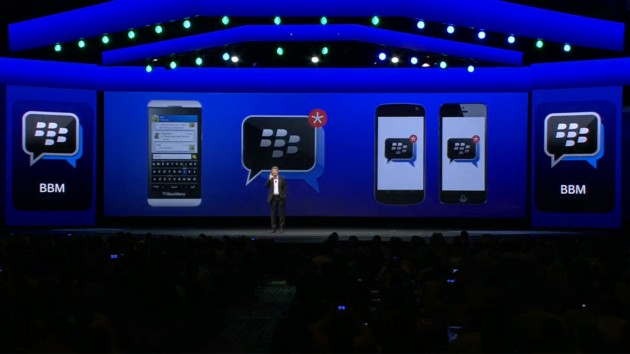 BlackBerry Messenger for iPhone - Android