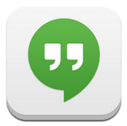 Google Hangouts app for iPhone / ipad