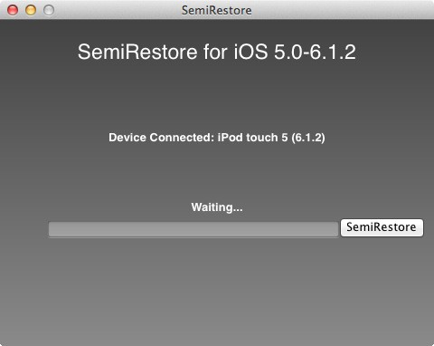 SemiRestore iPhone Restore
