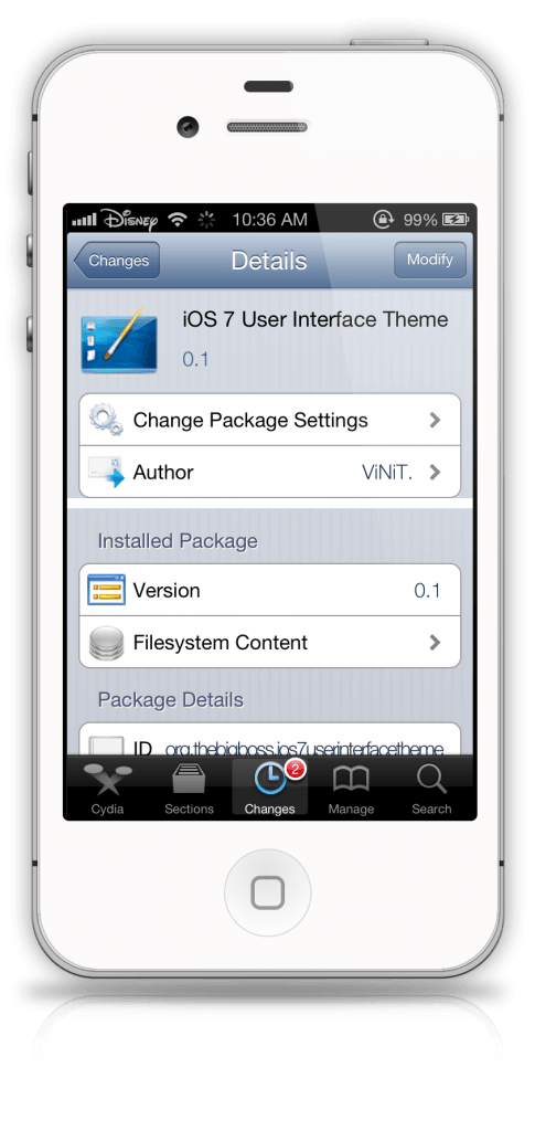 iOS 7 UI Theme for iOS 6