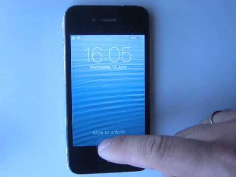 iOS 7 Lockscreen bug