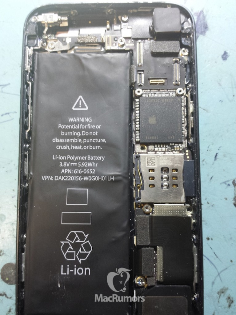 iPhone 5S Part Leak