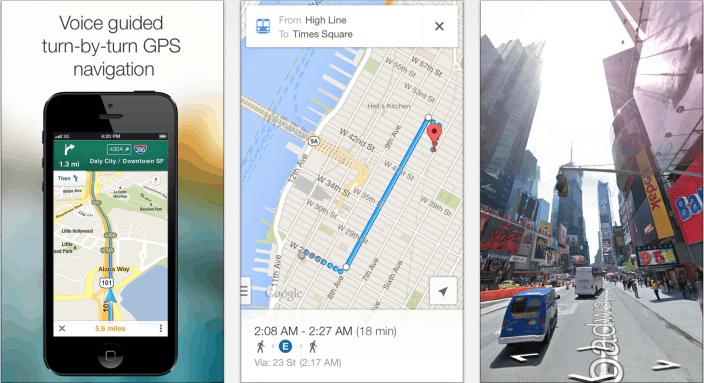 Google Maps 2.0 for iOS