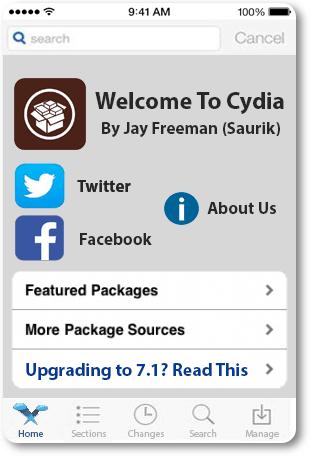 iOS 7 Cydia Jailbreak
