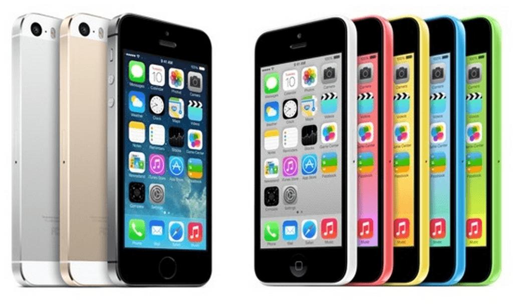 iPhone 5C - iPhone 5s