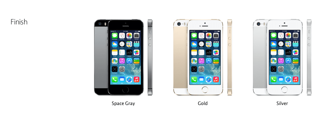 iPhone 5S Gold Color