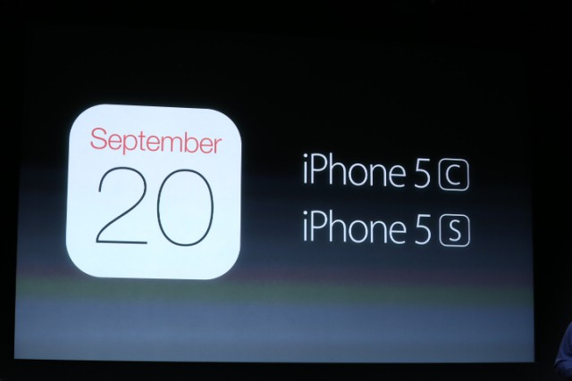 iPhone 5S PreOrders
