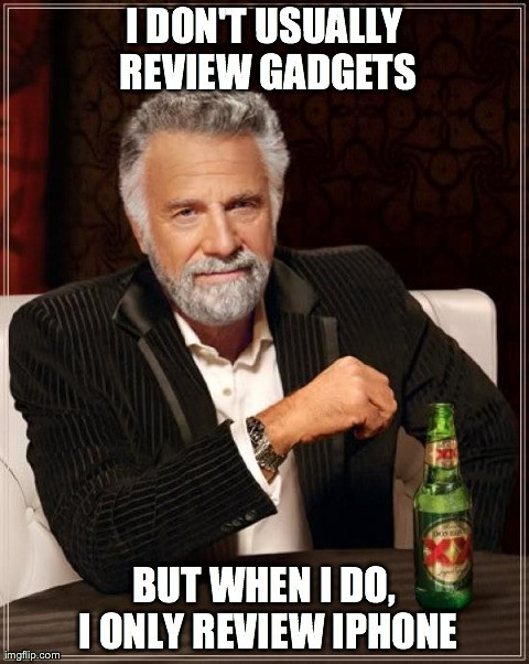 iphone 5s review meme