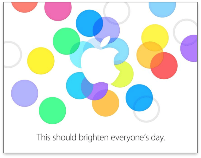 iphone 5s launch event