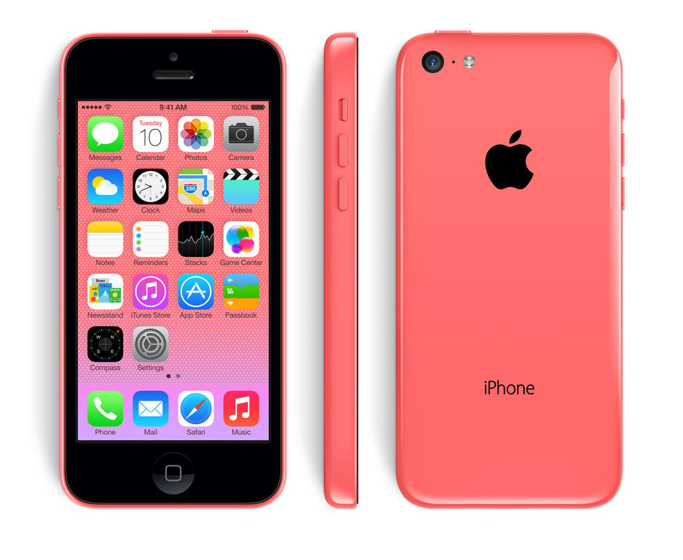 red-iPhone-5c